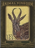 2011 Upper Deck Goodwin Champions #AK52 Springbok Animal Kingdom Patch
