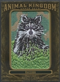 2011 Upper Deck Goodwin Champions #AK56 Raccoon Animal Kingdom Patch