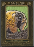 2011 Upper Deck Goodwin Champions #AK90 Red Ruffed Lemur Animal Kingdom Patch