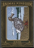 2011 Upper Deck Goodwin Champions #AK100 Do-Do Bird Animal Kingdom Patch