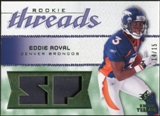 2008 Upper Deck SP Rookie Threads Rookie Threads Patch 15 #RTER Eddie Royal /15