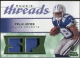 2008 Upper Deck SP Rookie Threads Rookie Threads Patch #RTFJ Felix Jones /15