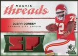 2008 Upper Deck SP Rookie Threads Rookie Threads Patch 15 #RTGD Glenn Dorsey /15