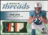 2008 Upper Deck SP Rookie Threads Rookie Threads Patch #RTJL Jake Long /15
