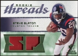 2008 Upper Deck SP Rookie Threads Rookie Threads Patch #RTSS Steve Slaton /15