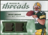 2008 Upper Deck SP Rookie Threads Rookie Threads Patch 25 #RTBB Brian Brohm /25