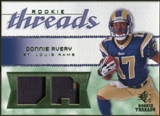 2008 Upper Deck SP Rookie Threads Rookie Threads Patch #RTDA Donnie Avery /25