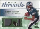 2008 Upper Deck SP Rookie Threads Rookie Threads Patch #RTDJ DeSean Jackson /25
