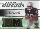 2008 Upper Deck SP Rookie Threads Rookie Threads Patch 25 #RTDM Darren McFadden /25