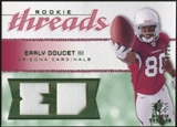 2008 Upper Deck SP Rookie Threads Rookie Threads Patch 25 #RTED Early Doucet /25