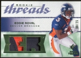 2008 Upper Deck SP Rookie Threads Rookie Threads Patch #RTER Eddie Royal /25