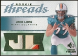 2008 Upper Deck SP Rookie Threads Rookie Threads Patch 25 #RTJL Jake Long /25