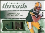 2008 Upper Deck SP Rookie Threads Rookie Threads Patch #RTJN Jordy Nelson /25