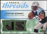 2008 Upper Deck SP Rookie Threads Rookie Threads Patch #RTJS Jonathan Stewart /25