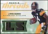 2008 Upper Deck SP Rookie Threads Rookie Threads Patch 25 #RTLS Limas Sweed /25