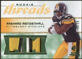 2008 Upper Deck SP Rookie Threads Rookie Threads Patch 25 #RTRM Rashard Mendenhall /25