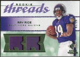 2008 Upper Deck SP Rookie Threads Rookie Threads Patch #RTRR Ray Rice /25