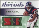 2008 Upper Deck SP Rookie Threads Rookie Threads Patch 25 #RTSS Steve Slaton /25