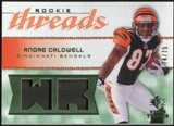 2008 Upper Deck SP Rookie Threads Rookie Threads Patch #RTAC Andre Caldwell /75