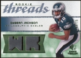 2008 Upper Deck SP Rookie Threads Rookie Threads Patch 75 #RTDJ DeSean Jackson /75