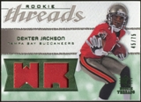 2008 Upper Deck SP Rookie Threads Rookie Threads Patch #RTDX Dexter Jackson /75