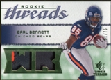 2008 Upper Deck SP Rookie Threads Rookie Threads Patch #RTEB Earl Bennett /75