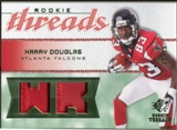 2008 Upper Deck SP Rookie Threads Rookie Threads Patch #RTHD Harry Douglas /75