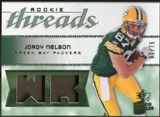 2008 Upper Deck SP Rookie Threads Rookie Threads Patch 75 #RTJN Jordy Nelson /75