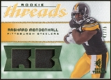 2008 Upper Deck SP Rookie Threads Rookie Threads Patch 75 #RTRM Rashard Mendenhall /75