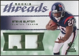 2008 Upper Deck SP Rookie Threads Rookie Threads Patch #RTSS Steve Slaton /75