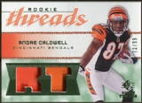 2008 Upper Deck SP Rookie Threads Rookie Threads Patch #RTAC Andre Caldwell /99