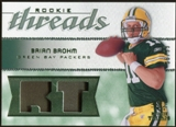 2008 Upper Deck SP Rookie Threads Rookie Threads Patch 99 #RTBB Brian Brohm /99