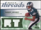 2008 Upper Deck SP Rookie Threads Rookie Threads Patch 99 #RTDJ DeSean Jackson /99