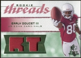 2008 Upper Deck SP Rookie Threads Rookie Threads Patch 99 #RTED Early Doucet /99
