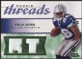 2008 Upper Deck SP Rookie Threads Rookie Threads Patch #RTFJ Felix Jones /99