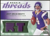2008 Upper Deck SP Rookie Threads Rookie Threads Patch 99 #RTJB John David Booty /99
