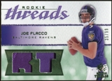 2008 Upper Deck SP Rookie Threads Rookie Threads Patch #RTJF Joe Flacco /99