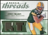 2008 Upper Deck SP Rookie Threads Rookie Threads Patch #RTJN Jordy Nelson /99