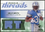 2008 Upper Deck SP Rookie Threads Rookie Threads Patch 99 #RTKS Kevin Smith /99