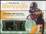 2008 Upper Deck SP Rookie Threads Rookie Threads Patch 99 #RTRM Rashard Mendenhall /99