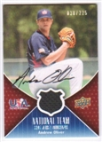 2009 Upper Deck USA National Team Jersey Autographs #AO Andrew Oliver Autograph /225