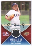 2009 Upper Deck USA National Team Jersey Autographs #CH Chris Hernandez Autograph /225