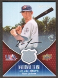 2009 Upper Deck USA National Team Jersey Autographs #RJ Ryan Jackson Autograph /225