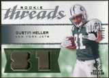 2008 Upper Deck SP Rookie Threads Patch Jersey Number #RTDK Dustin Keller /81