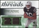 2008 Upper Deck SP Rookie Threads Patch Jersey Number #RTDM Darren McFadden 6/20