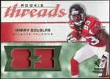 2008 Upper Deck SP Rookie Threads Patch Jersey Number #RTHD Harry Douglas /83