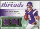 2008 Upper Deck SP Rookie Threads Rookie Threads Patch Jersey Number #RTJB John David Booty /4