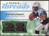 2008 Upper Deck SP Rookie Threads Patch Jersey Number #RTJS Jonathan Stewart /28