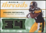 2008 Upper Deck SP Rookie Threads Patch Jersey Number #RTRM Rashard Mendenhall /34