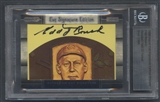 2008 Razor Cut Signature Edition Baseball Edd Roush Cut Auto